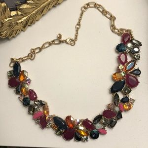 J.Crew Jeweled Statement Necklace
